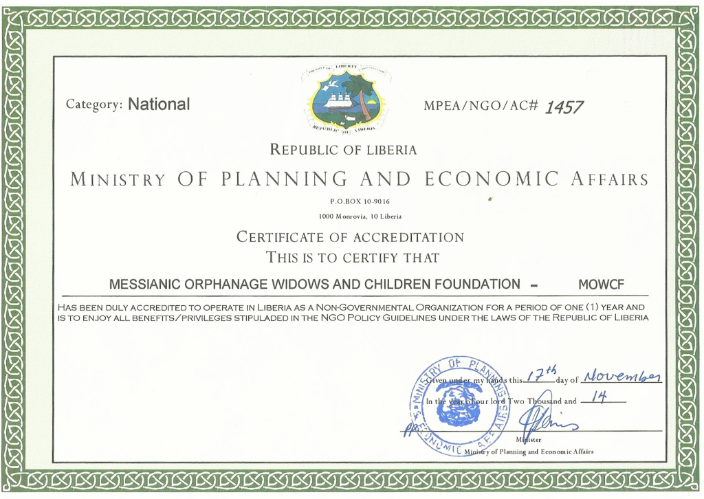 Ministry of planning and economic affairs