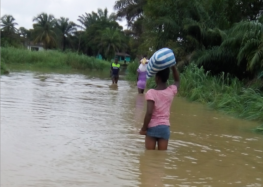 Flooding in Liberia